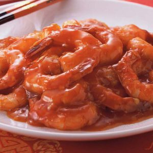 Shrimps in Chili Sauce